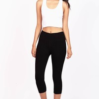 Circuit Cropped Leggings