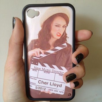 Cher Lloyd Case iPhone 44s by BluWatermelonDesigns on Etsy