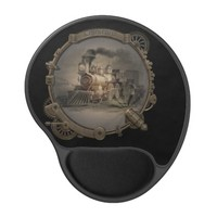 Magic Lantern - Steampunk Style Frame. Gel Mouse Pad