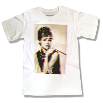 Audrey Hepburn 3D 035 Shirt - Celebrity - All Sizes Available