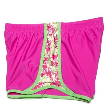 Delta Zeta Shorts in Magenta by Krass & Co. - FINAL SALE