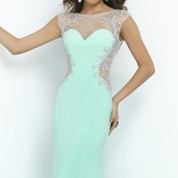 Stylish Long Gown by Blush by Alexia