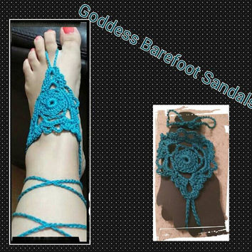 Goddess Barefoot Sandals, Gifts for 10