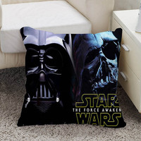 Star Wars Darth Vader Pillow case size 16 x 16, 18 x 18, 16 x 24, 20 x 30, 20 x 26 One side and Two side