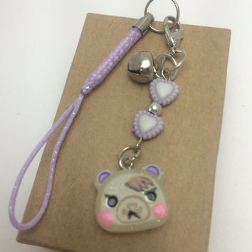 Glow in the Dark Animal Crossing Marshal Squirrel Charm