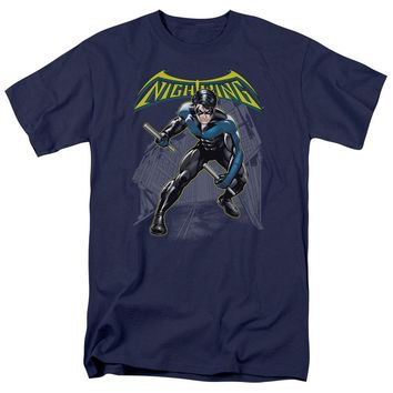 Batman - Nightwing Short Sleeve Adult 18/1