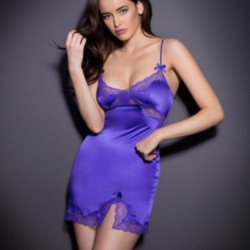Slips & Babydolls by Agent Provocateur - Luna Short Slip