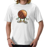 Basketball T-shirts from Zazzle.com