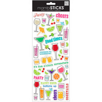 mambiSTICKS™ Stickers, Cocktail Drinks