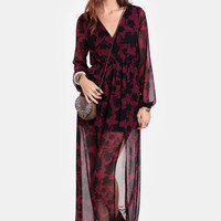 Cast A Spell Floral Maxi Dress - New Arrivals - Clothing