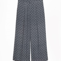 & Other Stories | Wide Leg Trousers | Dandelion Print