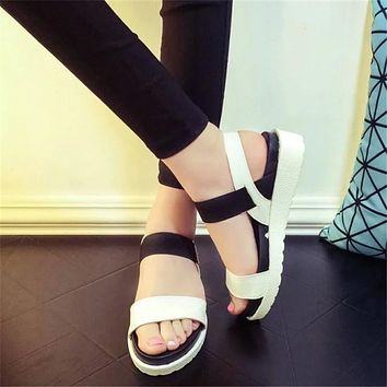 Casual Leather Sandals