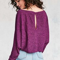 Silence + Noise Andy Dolman-Sleeve Sweater   Urban Outfitters