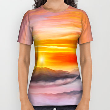 Ardor planet story beginning All Over Print Shirt by exobiology