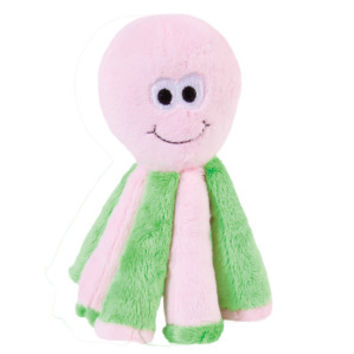 ToyShoppe® Plush Octopus Squeaker Dog Toy