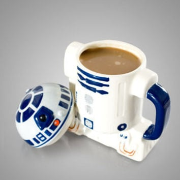 R2-D2 Mug with Lid at Firebox.com