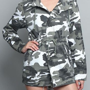 Colored Camo Field Jacket RJK3027-R11F