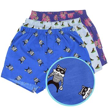 COOL CRITTERS | BOXER SHORTS 3-PACK