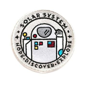 Astronaut Solar System Patch