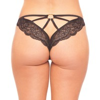 Be Wicked  BW1708BK Lace Panty