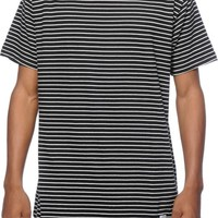 Akomplice Striped Moan Elongated T-Shirt