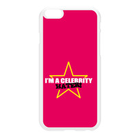 Celebrity Hater White Hard Plastic Case for iPhone 6 Plus by Chargrilled