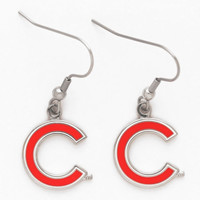 Chicago Cubs WinCraft Women's Dangle Earrings-