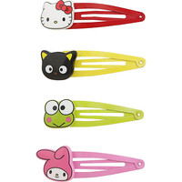 Hello Sanrio Character Hair Clip Set