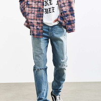 BDG Destructed Bay Wash Slim Jean - Urban Outfitters