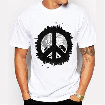 Men's Print  T-Shirt Design For Men Summer Cartoon T shirt