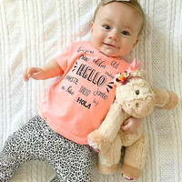 2017 new style Baby clothes sets autumn and spring girls clothing sets baby boy clothes set long-sleeve and pants
