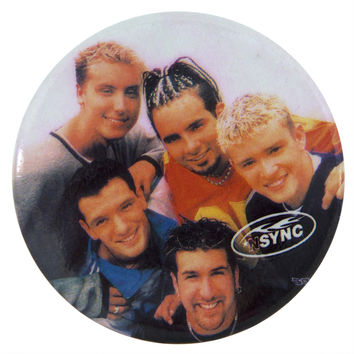 Nsync - Group Huddle - Big Button