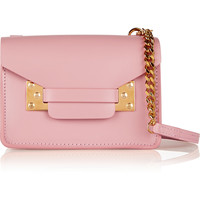 Sophie Hulme - Envelope mini leather shoulder bag