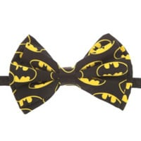DC Comics Batman Logo Bow Tie