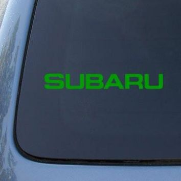SUBARU SYMBOL  Logo Vinyl Sticker Decal Car Truck Windon Wall Laptop notebook