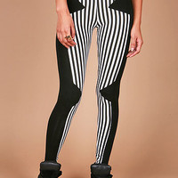 Stripe Runner Leggings - Striped Leggings at Pinkice.com