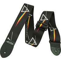 "Perri's Pink Floyd Dark Side of the Moon 2"" Polyester Guitar Strap 