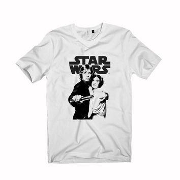 Luke And Leia Princess Leia star wars T-shirt Unisex size S,M,L,XL,XXL,3XL