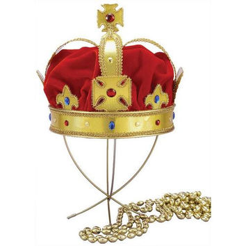 Costume Accessory: Regal King Crown