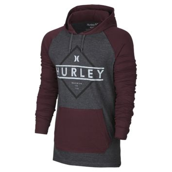 Hurley Diamond Plus Raglan Men's Hoodie