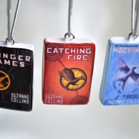 The Hunger Games Trilogy Book Charms
