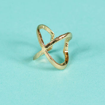 X Statement Ring