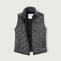 Quilted Fleece Vest