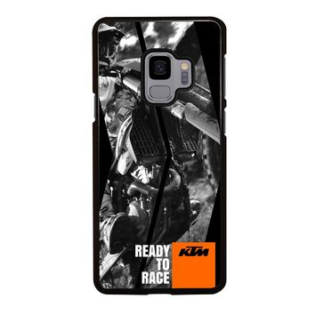 KTM MOTORCYCLE READY TO RACE Samsung Galaxy S3 S4 S5 S6 S7 S8 S9 Edge Plus Note 3 4 5 8 Case