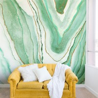 Agate Inspired Watercolor 07 Wall Mural Viviana Gonzalez