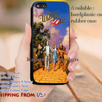 The Wizard of Oz iPhone 6s 6 6s+ 5c 5s Cases Samsung Galaxy s5 s6 Edge+ NOTE 5 4 3 #movie #TheWizardOfOz dl9