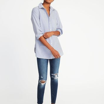 Classic Poplin Tunic for Women | Old Navy