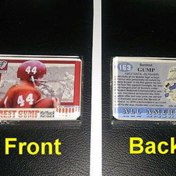 Forrest Gumb Alabama Crimson Tide Football Card prop Display Piece Paperweight