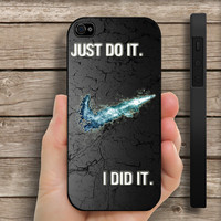 Nike Iphone 4/4s case or Iphone 5 case Hard cover plastic