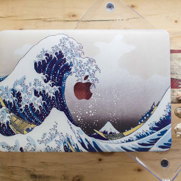 Japanese Wave MacBook Case MacBook Pro 13 Case Hokusai Great Wave MacBook Pro Retina 15 Case The Great Wave Off Kanagawa MacBook Air 11 Case